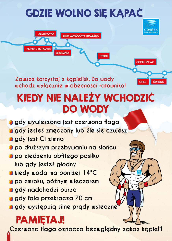 Bezpieczna woda – Kąpieliska Morskie Gdańsk