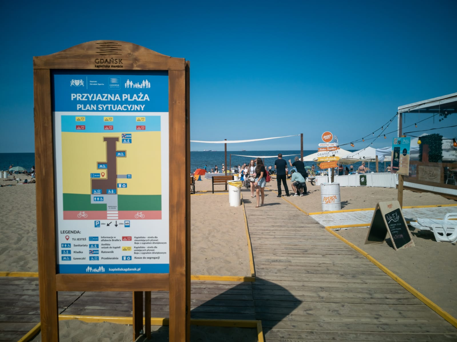 Otwarcie Plaży dostępnej dla wszystkich!